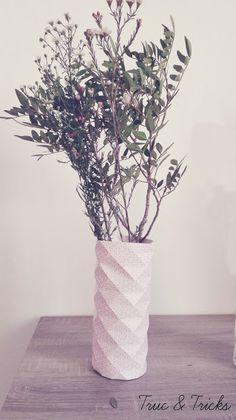 Truc & Tricks: Vase origami DIY : créez votre propre vase