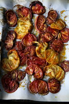 Smoked and Roasted Tomatoes