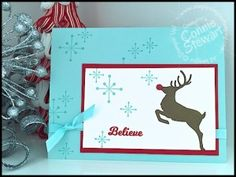 Flash Card - Jolly Christmas - www.SimplySimpleStamping.com