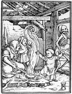 Hans Holbein - Totentanz, das Kind