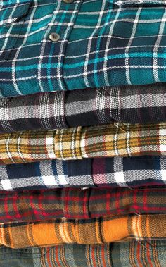All I want is flannel, flannel, and more flannel! Just incase anyone wants to buy me anything....