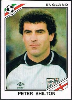 Peter Shilton of England. 1986 World Cup Finals card. Legends Football, Football Icon, Uk Football, National Football Teams, World Football, Football Kits, Football Stickers, Football Cards, Soccer Stars
