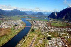 Puerto Aysén, en la Región del  de Aysén/Chile
