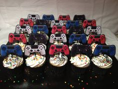 Hey, I found this really awesome Etsy listing at https://www.etsy.com/listing/228516678/ps4-playstation-video-game-party-cupcake