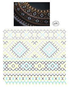 Natali Khovalko Bead Crochet Patterns, Beading Patterns Free, Seed Bead Patterns, Beading Tutorials, Diy Necklace Patterns, Beaded Jewelry Patterns, Fabric Origami, Bead Jewellery, Loom Beading