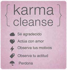 Limpia el Karma