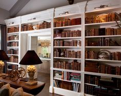 Home Design, Decorating & Remodeling Ideas Built In Bookcase, Bookshelves, Basement Inspiration, Basement Ideas, Living Spaces, Living Room, Amazing Spaces, Built Ins, My Room