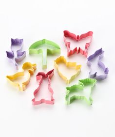 Take a look at this R Butterfly Cookie Cutter Set by R on #zulily today!