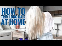 Pin on How to trim your own hair