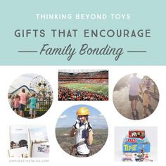If you would like to give your loved ones gifts that will be enjoyed longer than the usual toys and trinkets, here are some gift ideas to encourage family bonding all year long!