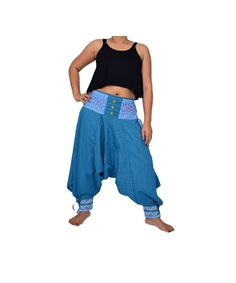 New Harem Pants Aladdin PantsYoga Pants Drop Crotch by FANZYDESIGN