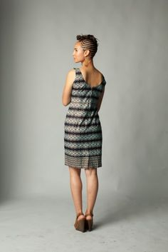 Timeless Dress made in Ghana (100% Ghanaian cotton). $200 on Ethical Ocean. #africa #dress