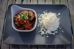 Einfaches Champignon-Curry - Kadai Mushroom