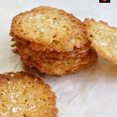 """- """"If you like crisp, caramel,coconut and sweet then these little sweet treats are for you! They're absolutely delicious and will store for up to a week if you wish to make ahead. Nice easy recipe using regular ingredients. Chocolate Treats, Delicious Chocolate, Delicious Desserts, Yummy Food, Cookie Desserts, Cookie Recipes, Dessert Recipes, Coconut Cookies, Yummy Cookies"""