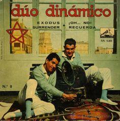 Exodus [Grabación sonora] / Dúo Dinámico.-- Barcelona : Gramófono-Odeón, D.L. 1961. 1GS/M/83