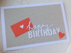 Schönes aus Papier handgemacht!: Geburtstagspost