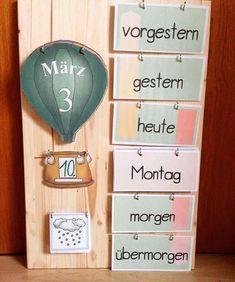 """411 Likes, 16 Comments - Material & Organisation (@grundschul_teacher) on Instagram: """"Ich weiß zwar noch nicht welche Klassenstufe aber diesen schlichten Kalender werden alle lernen zu…"""""""