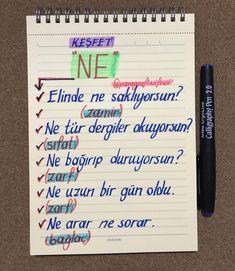 Learn Turkish Language, Study Hard, Bullet Journal, Classroom, Notes, Blog, Education, Learning, School