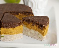 raw apple pie pumpkin cake - Liver Cleansing Diet Recipes for a Happy Healthy Liver - Love Your Liver & Live Longer - Happy Liver Flushing! - I LIVER YOU