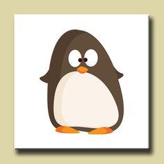Cuadro Pinguino