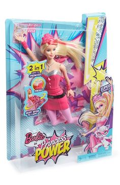 Mattel 'Barbie® in Princess Power™ Transforming Super Sparkle™' Doll available at #Nordstrom