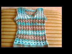 cómo tejer un SWEATER a crochet (jersey, saco, suéter, pullover) - YouTube