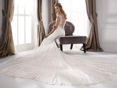 Moda sposa 2020 - Collezione NICOLE.  NIA20701. Abito da sposa Nicole. Fashion Group, Mermaid Dresses, Bridal Dresses, Wedding Goals, Dream Wedding, Nicole Fashion, Chantilly Lace, Couture, Dress Making