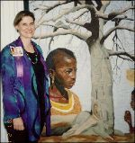 Hollis Chatelain - Amazing Textile Artist - She lived in Africa for 12yrs. The inspiration for her quilts come from her dreams.