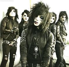 Black Veil Brides. Cant tell you how much I love them. ♥♥♥