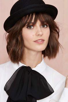 Nasty Gal Andrea Bowler Hat