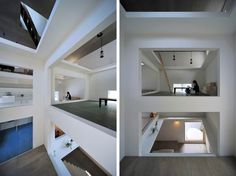 LOOK INSIDE THE COMPLETELY OPEN HOUSE T_06 Hiroyuki Shinozaki Architects build House T for a young couple living in the center of Tokyo.