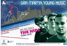 Noche y Día Gran Canaria: Música en Vivo - 05/07: The Hids en San Martin C.C.C.