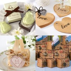 Creative Wedding Favors - MODwedding