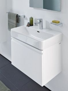 Laufen Pro S Washbasin 650mm 1 Tap Hole 810964.000.104