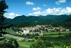 Western Carolina University, home of Cullowhee Mountain ARTS! WCU has amazing facilities and a gorgeous campus setting in the Blue Ridge Mountains close to the Great Smoky Mountain National Park!  Come take a work vacation art workshop here this summer! www.cullowheemountainarts.org