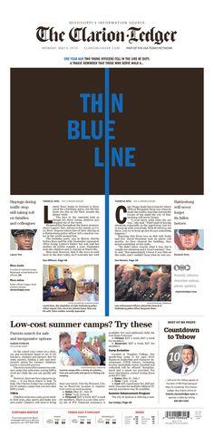 The Clarion-Ledger 5/9/16 via Newseum