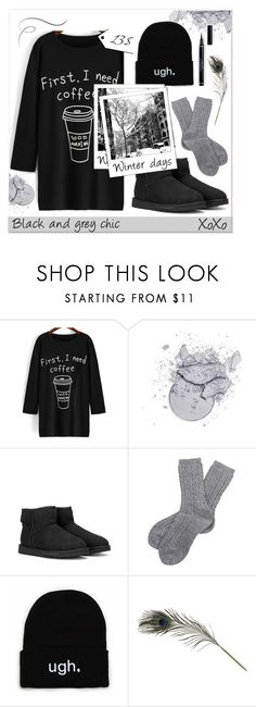 """""""Dress under 50$"""" by faigylefkowitz ❤ liked on Polyvore featuring UGG Australia, Barbour, Polaroid, HAY and Dressunder50"""
