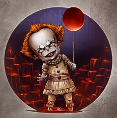 IT pennywise 2017 ; JK Arts. por Juan-K - Cine | Dibujando.net It Pennywise, Pennywise The Dancing Clown, Horror Movie T Shirts, Horror Movie Characters, Classic Horror Movies, Creepy Kids, Scary Art, Horror Icons, Horror Cartoon