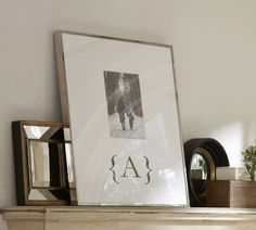 Personalized Mat Frames | Pottery Barn
