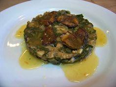 Cuisine en folie: Cèpes en duxelle aux blettes, ris de veau et lard de Colonnata #cuisine #recette #risdeveau #colonnata  #cèpes