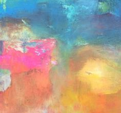 "Saatchi Art Artist Karin Aherne Jansen; Painting, ""landscape 67"" #art"