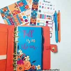 Fall Planner Set up From CandLcrafts1