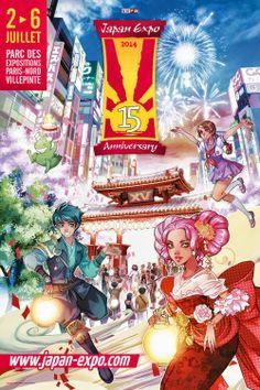 carlos vera fotografo: Japan Expo 15e Impact, del 2 al 6 de julio 2014 en...