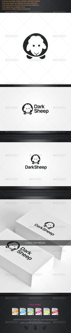 Sheep Logo - Simple Logo For Your Best Company  #GraphicRiver