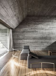 A Brutalist House By Juliaan Lampens is part of architecture - House Van Wassenhove by Juliaan Lampens offers architecture and design lovers the chance to stay in a brutalist house with striking raw concrete details Zaha Hadid Architecture, Concrete Architecture, Architecture Panel, Architecture Details, Interior Architecture, Contemporary Architecture, Brutalist Design, Concrete Houses, Concrete Pad