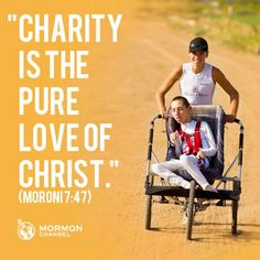 I run for charity and the love of helping others.