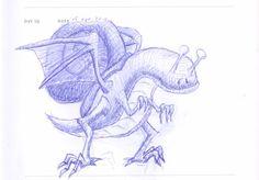 Doodle 019: Dragonsnail