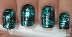 Hey! I have more nail foil crackle to show you today. I don't use these as often as I would like, probably because they usually don't last v...