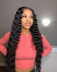 Curly Hair Styles, Natural Hair Styles, Baddie Hairstyles, Slick Hairstyles, Prom Hairstyles, Hair Laid, Human Hair Wigs, Curly Wigs, Lace Front Wigs