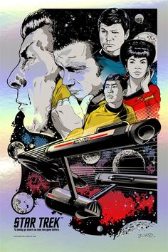 Buy Star Trek Maxi Poster - To Boldly Go online and save! Star Trek Maxi Poster – To Boldly Go This poster delivers a sharp, clean image and vibrant colours. This poster is printed on high quality pape. Science Fiction, Pulp Fiction, Leonard Nimoy, Pop Art Posters, Poster Prints, Movie Posters, Gaming Posters, Room Posters, Art Prints